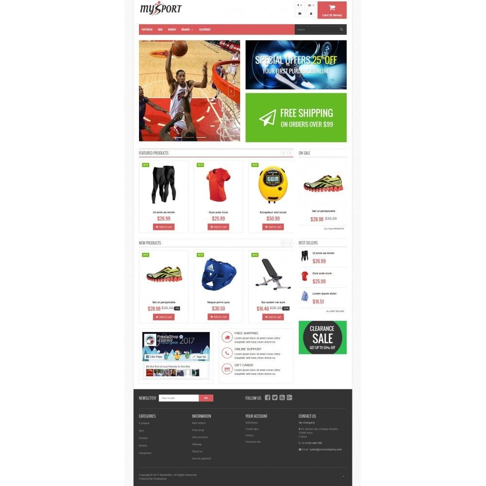 theme - Sport, Rozrywka & Podróże - VP_MySport Store - 2