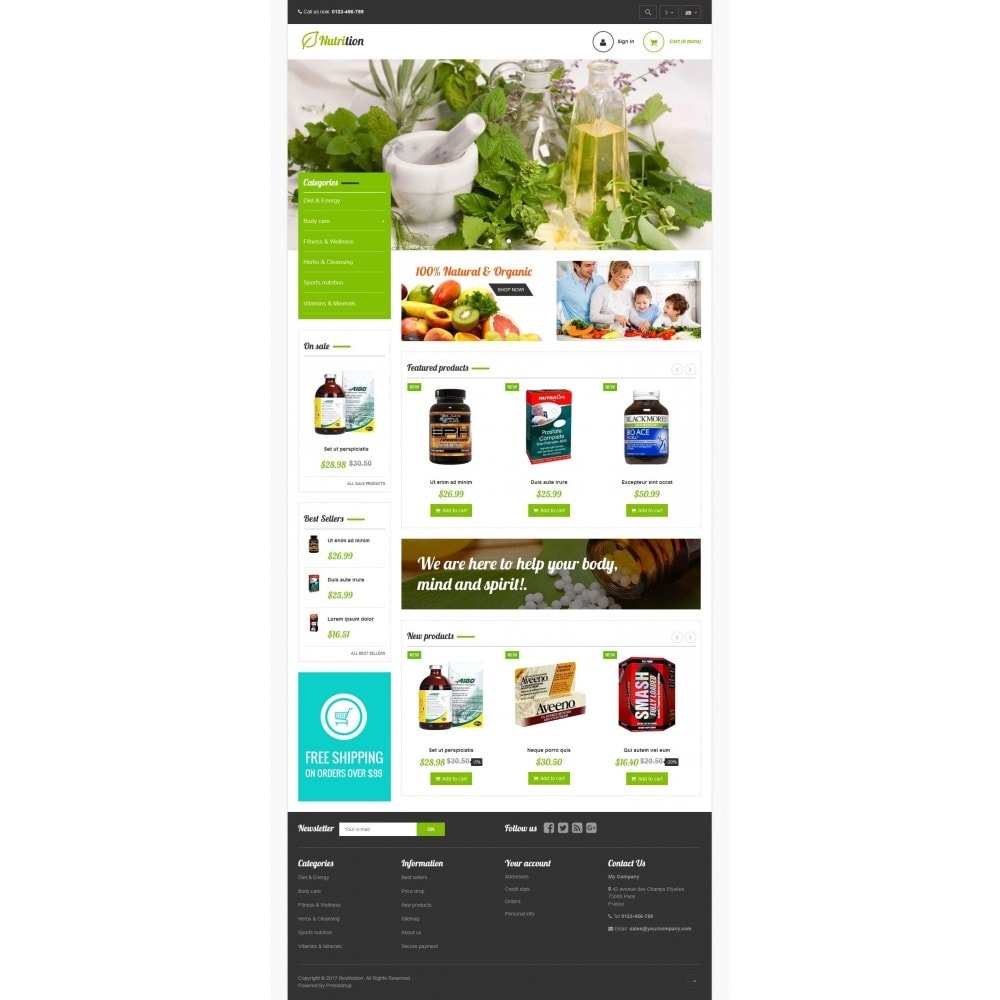 theme - Health & Beauty - VP_Nutrition Store - 2