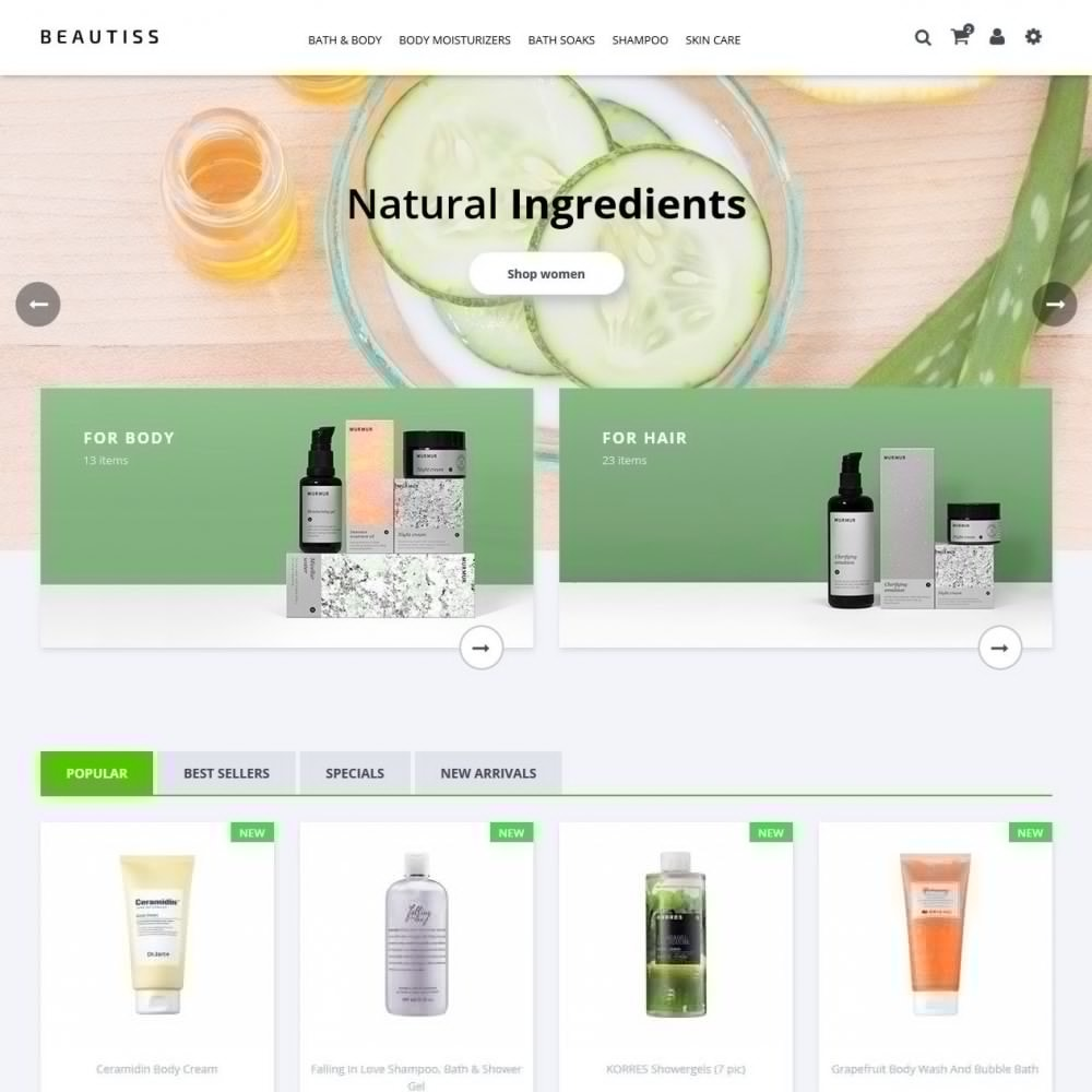 theme - Health & Beauty - Beautiss Cosmetics - 2