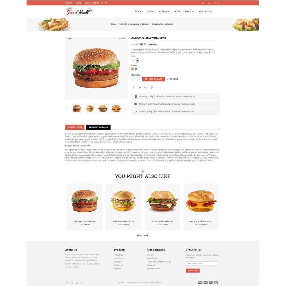theme - Alimentation & Restauration - Food hub - 5