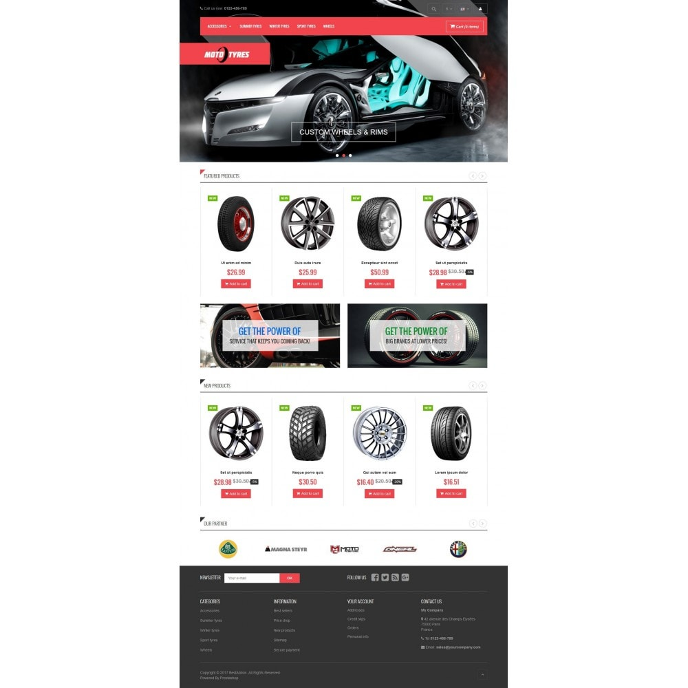 theme - Carros & Motos - VP_Tyres Store - 2