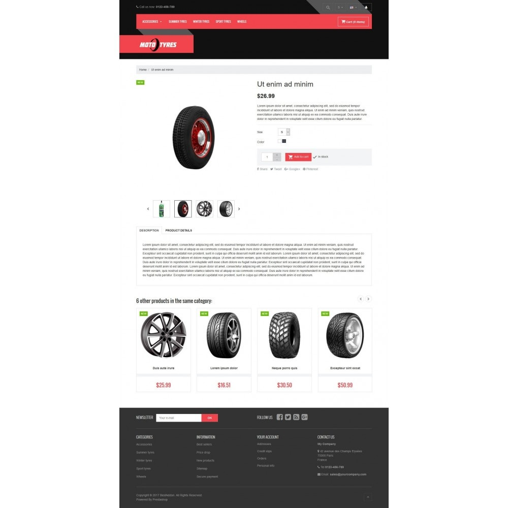theme - Automotive & Cars - VP_Tyres Store - 4