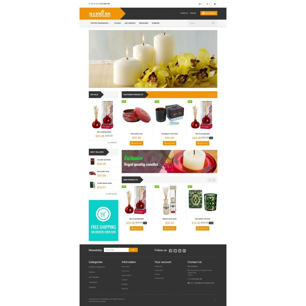 theme - Cadeaus, Bloemen & Gelegenheden - VP_Candles Store - 2
