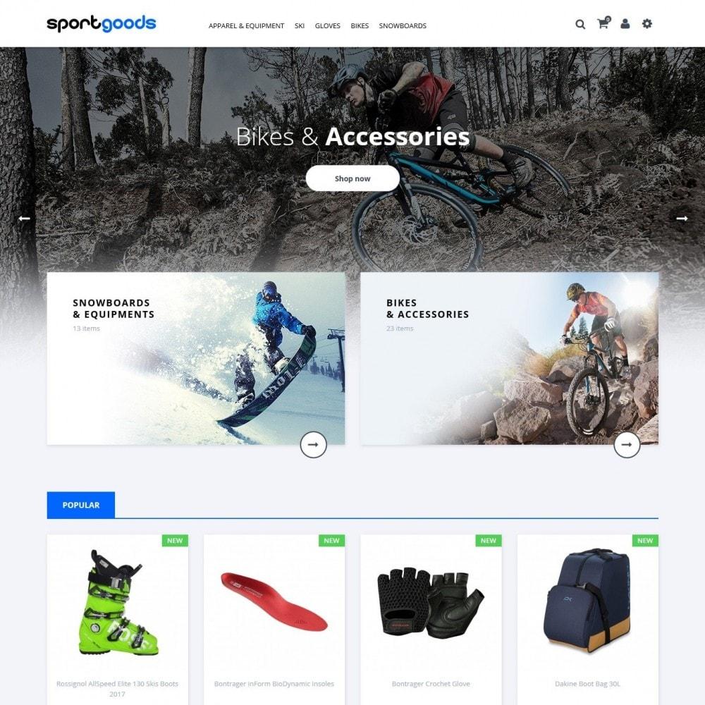 theme - Desporto, Actividades & Viagens - Sportgoods - 2