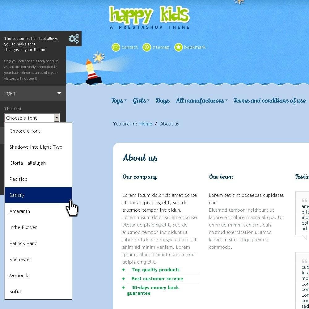 theme - Kinder & Spielzeug - Happy Kids - 11