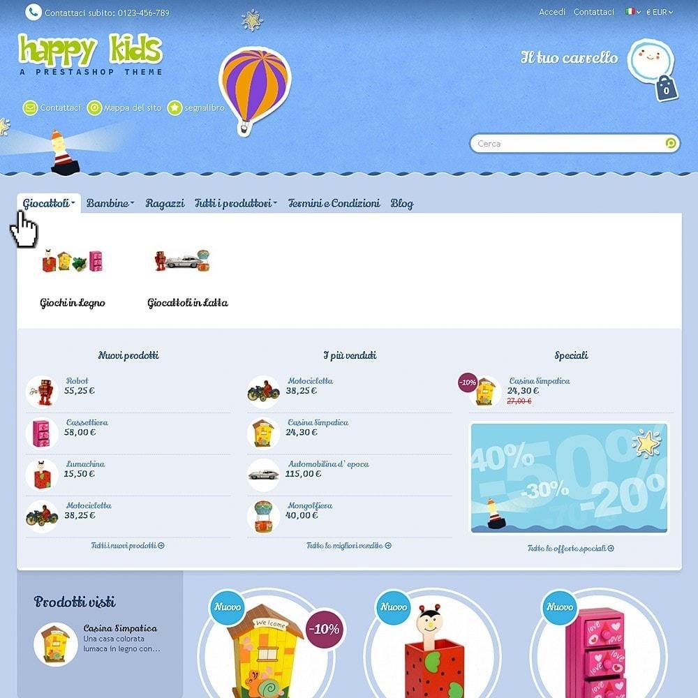 theme - Bambini & Giocattoli - Happy Kids - 4