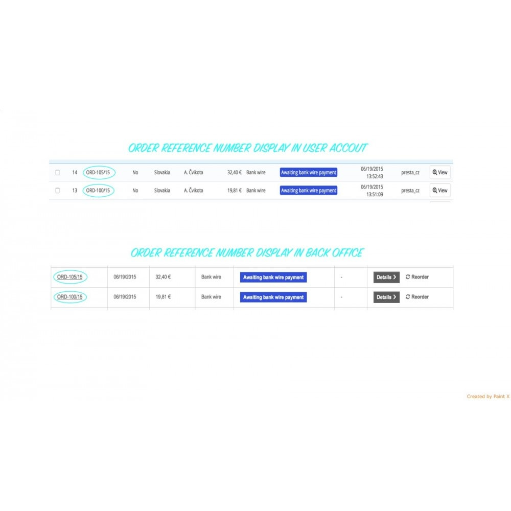 module - Gestion des Commandes - Génération avancé du numéro d´ordre, sa modification - 6