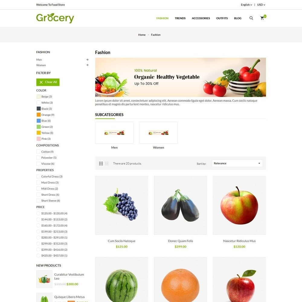 theme - Food & Restaurant - Grocery Store - 3
