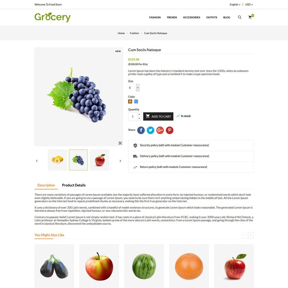 theme - Alimentation & Restauration - Grocery Store - 5