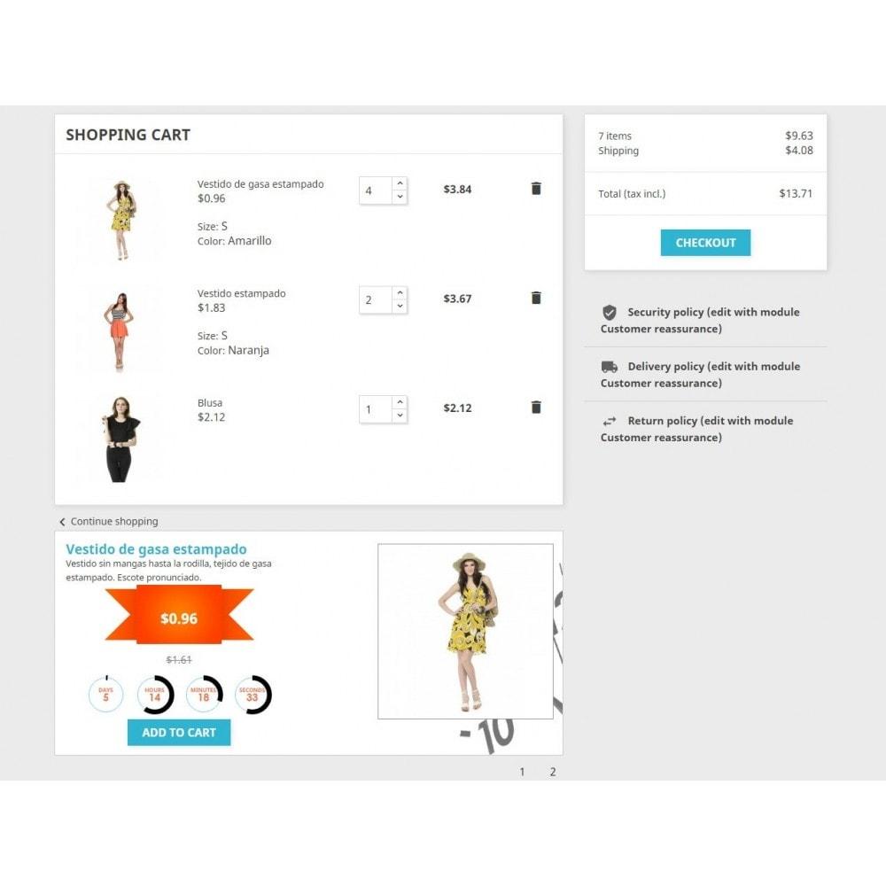 module - Ventes Flash & Ventes Privées - Countdown Specials - Flash sales - 5