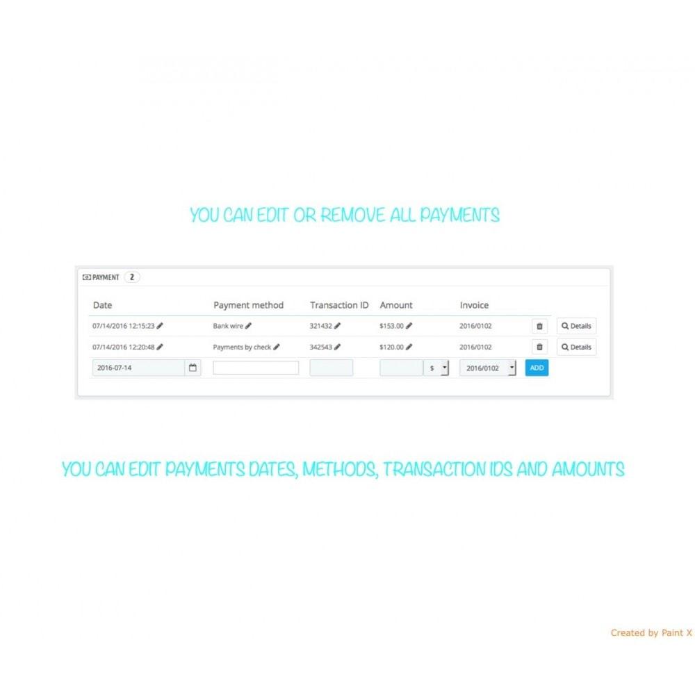 module - Gestion des Commandes - Management des commandes, édition des commandes existantes - 5