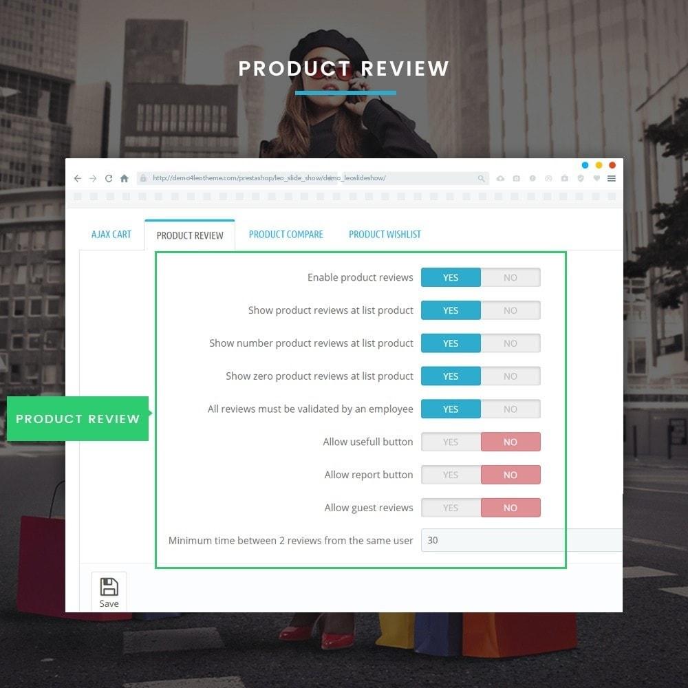module - Diversificação & Personalização de Produtos - Leo Feature Multipurpose - 9