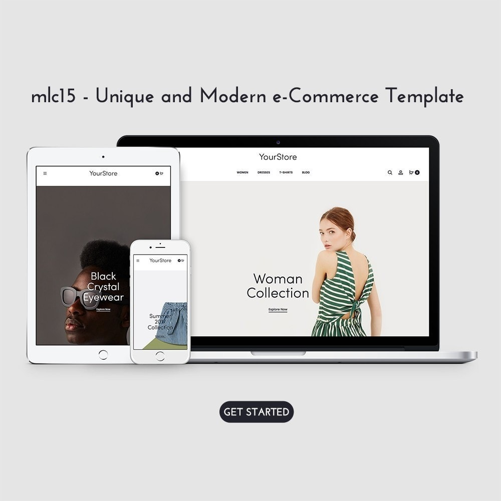 theme - Fashion & Shoes - mlc15 - A Unique and Modern e-Commerce - 1