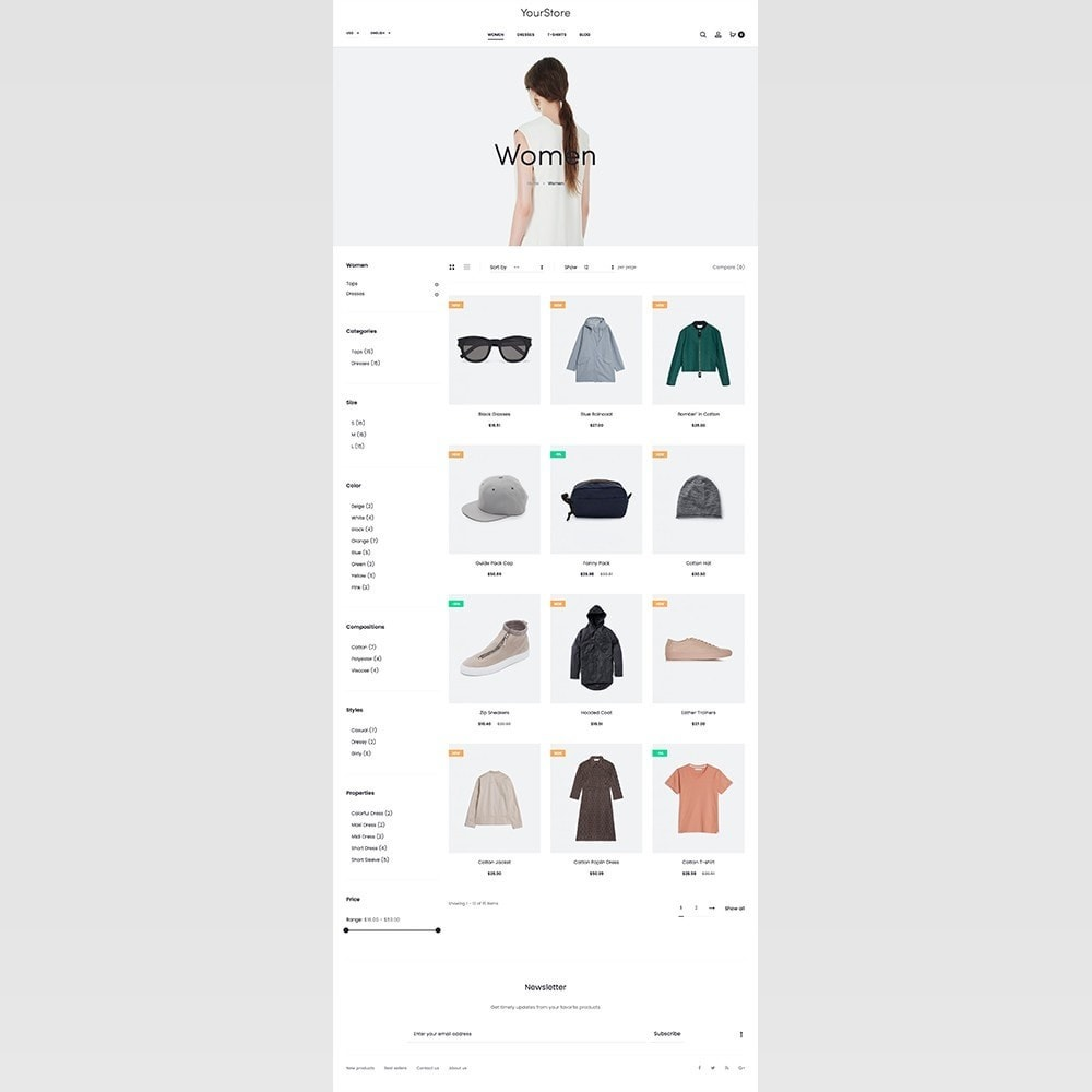 theme - Mode & Chaussures - mlc15 - A Unique and Modern e-Commerce - 6