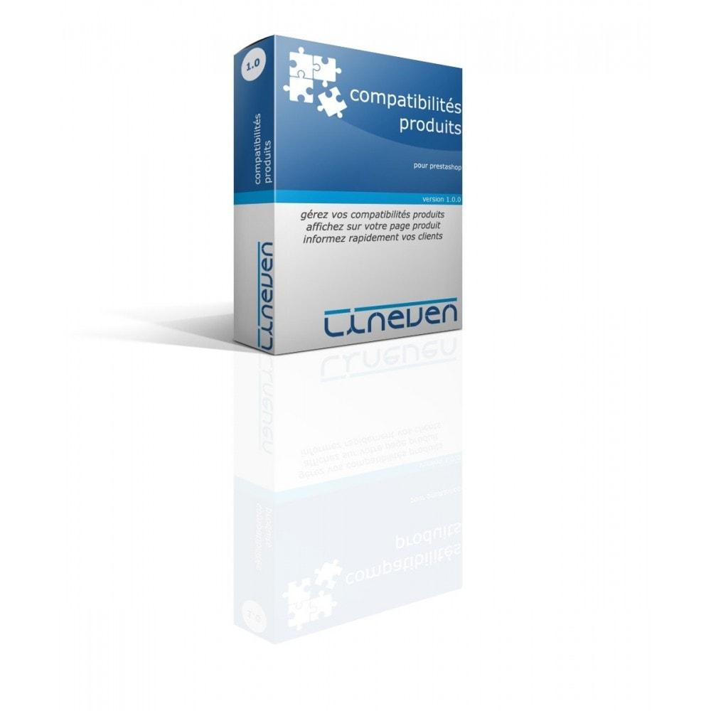 module - Déclinaisons & Personnalisation de produits - Compatibilités Produits - 1