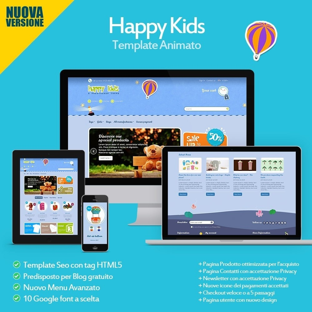 theme - Bambini & Giocattoli - Happy Kids - 2