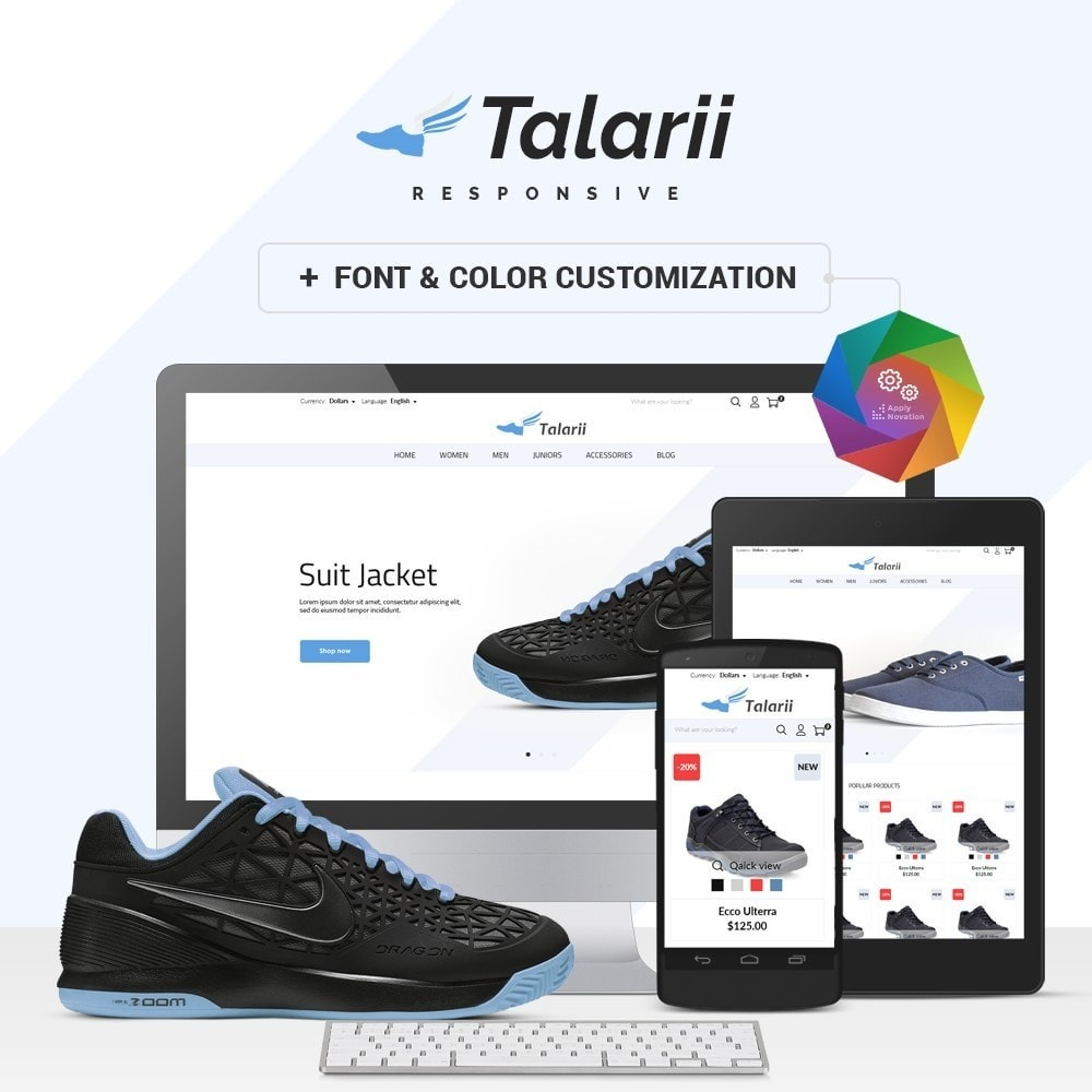theme - Mode & Chaussures - Talarii Shop - 1