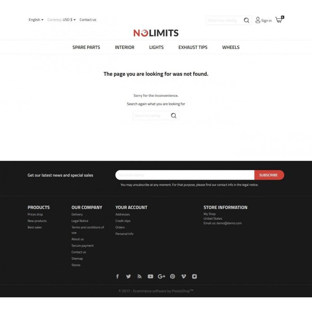 theme - Automotive & Cars - NoLimits - 9