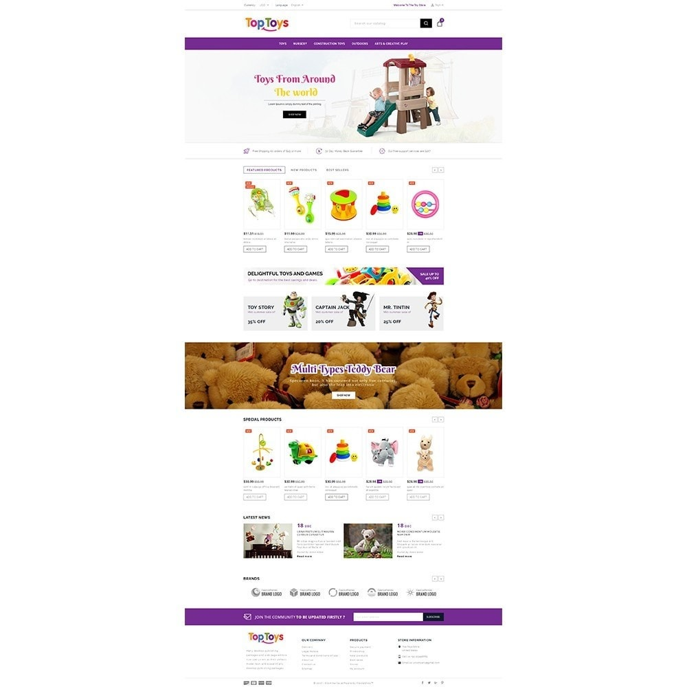 theme - Kids & Toys - Top Toys Store - 2