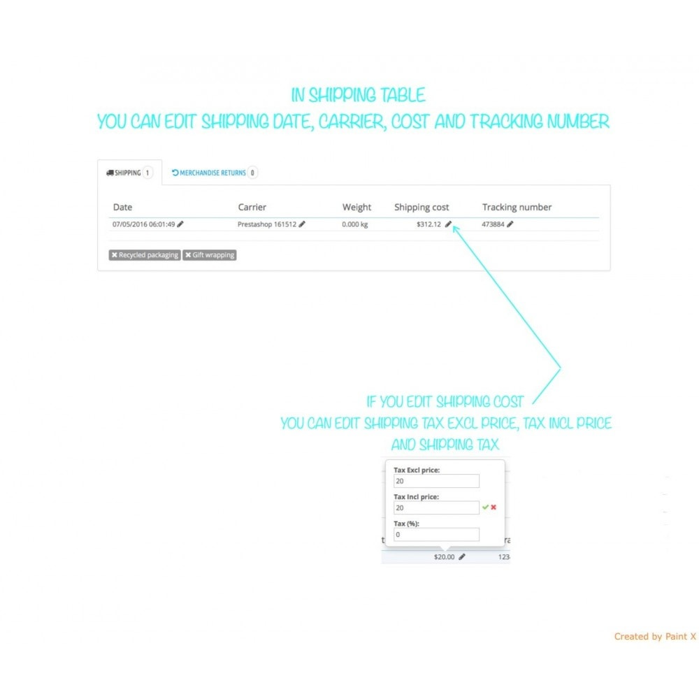 module - Gestión de Pedidos - Gestión de pedidos – modificación de pedidos existentes - 4