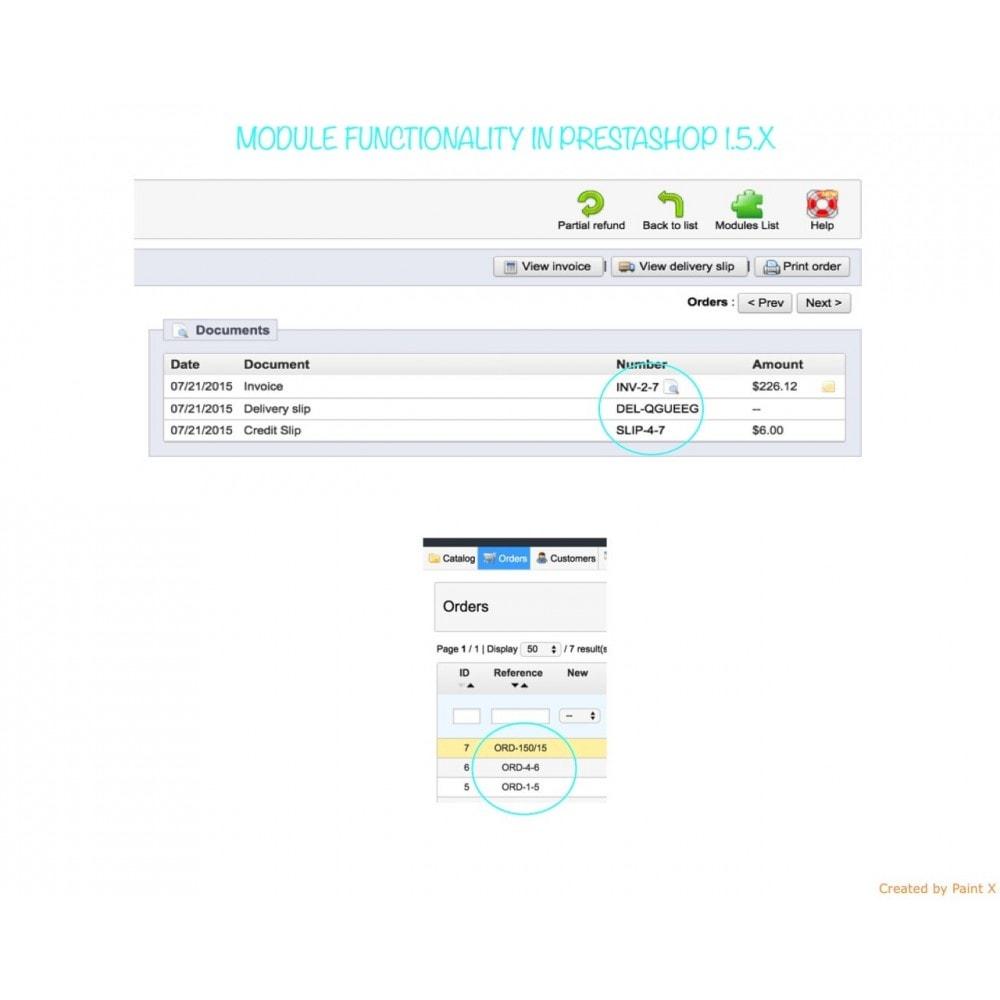 module - Contabilidad y Facturas - Números propios de pedido, factura, albanes y créditos - 8