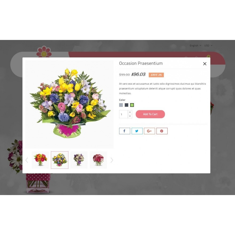 theme - Gifts, Flowers & Celebrations - Bucket Flower Store - 7