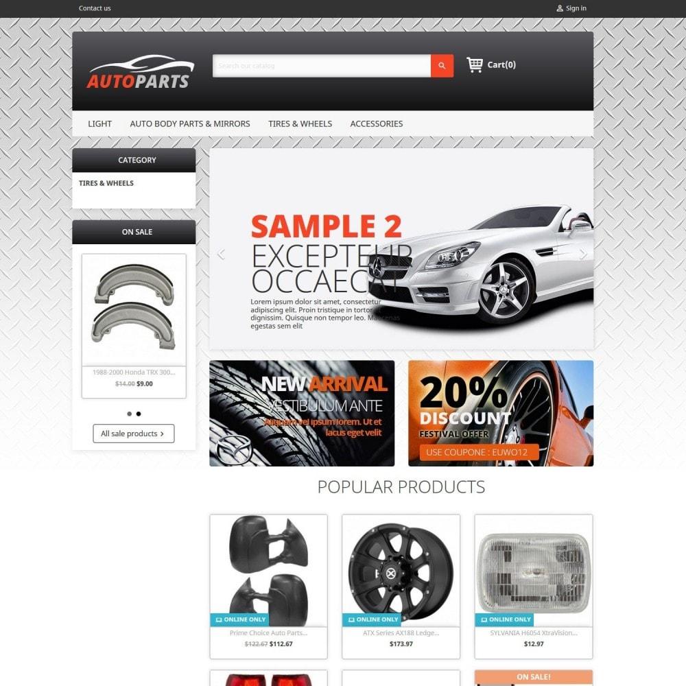 theme - Automotive & Cars - Auto Parts 2.0 - 1