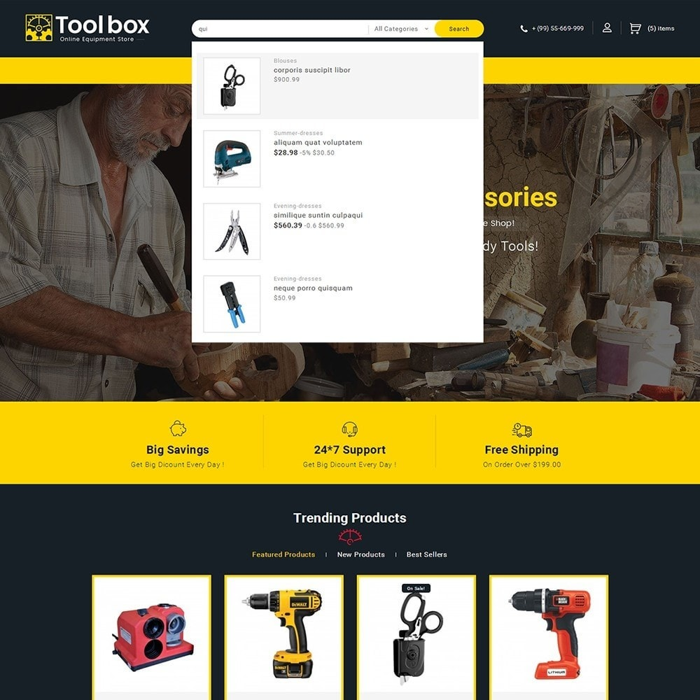 theme - Automotive & Cars - Tools Store - 10