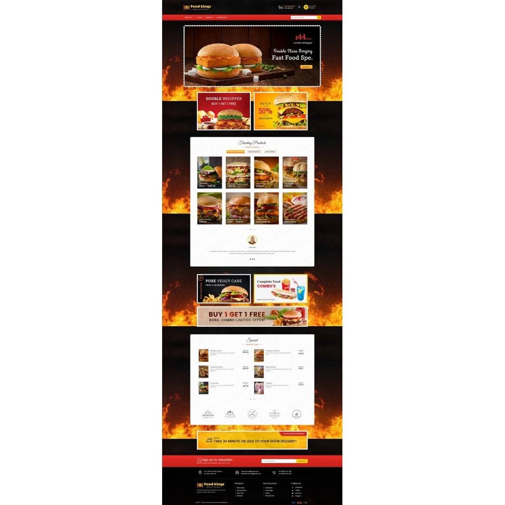 theme - Продовольствие и рестораны - Food Kings - 2