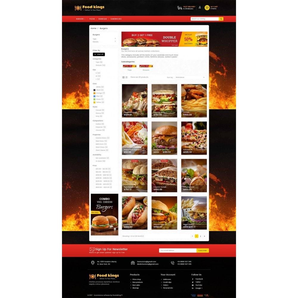 theme - Продовольствие и рестораны - Food Kings - 3