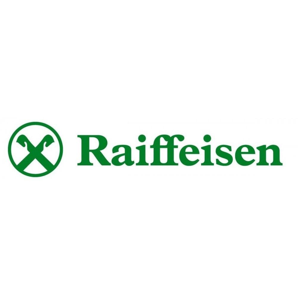 module - Pagamento con Carta di Credito o Wallet - Gateway di pagamento Banca Raiffeisen - 1