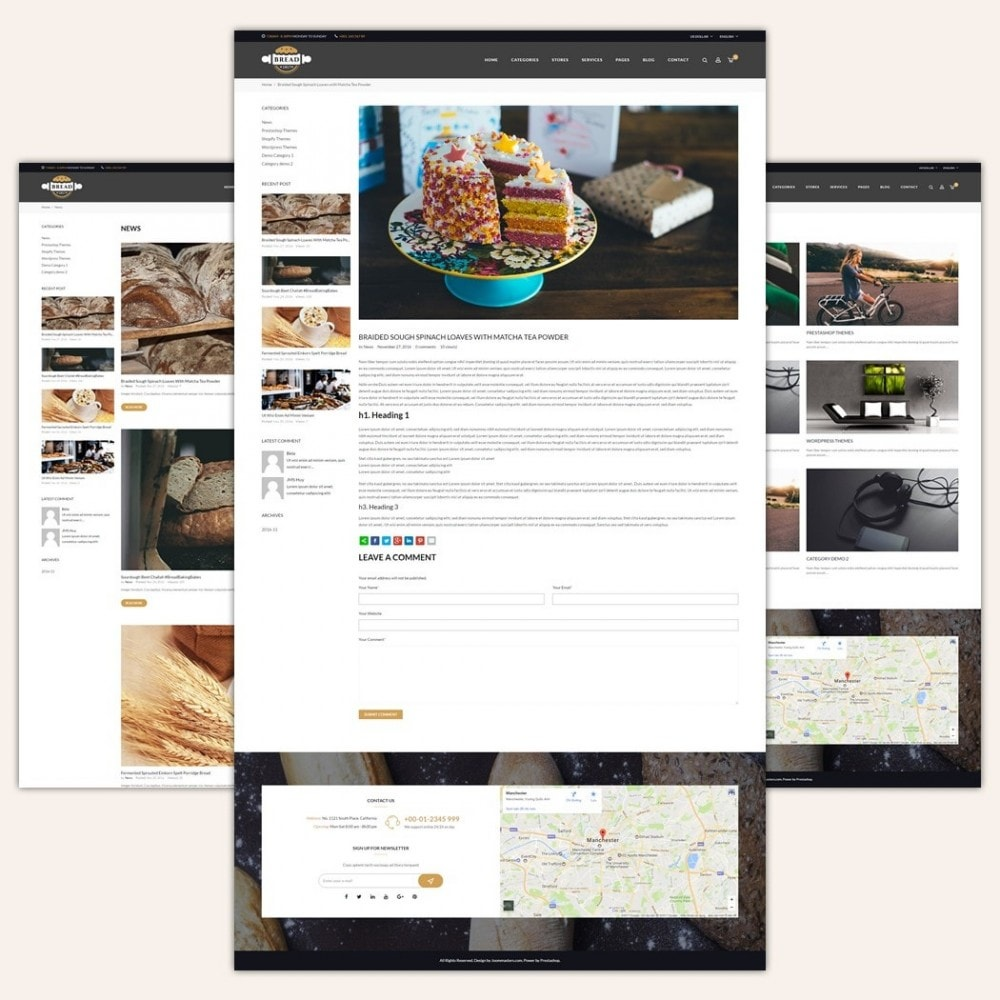 theme - Lebensmittel & Restaurants - JMS Bread 1.7 - 5