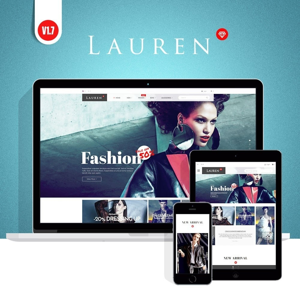 theme - Mode & Schoenen - Lauren Fashion - 1