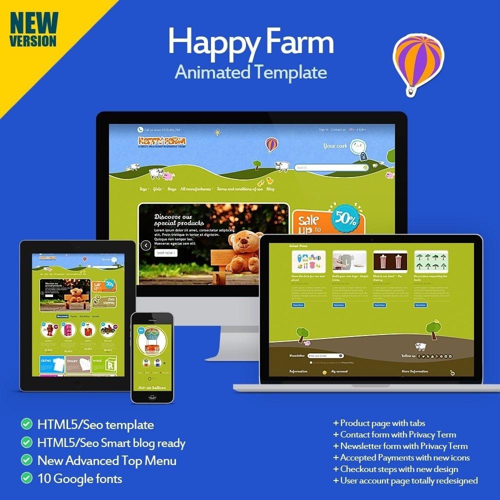 theme - Zabawki & Artykuły dziecięce - Happy Farm - 1