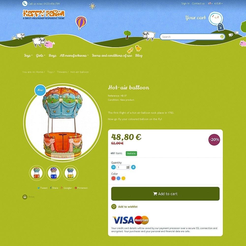 theme - Zabawki & Artykuły dziecięce - Happy Farm - 5