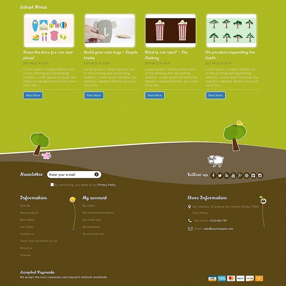theme - Zabawki & Artykuły dziecięce - Happy Farm - 8