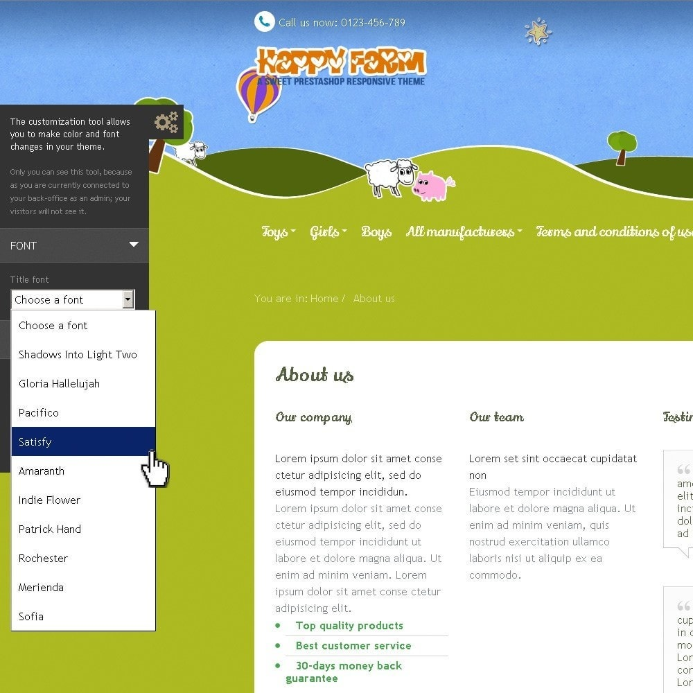 theme - Zabawki & Artykuły dziecięce - Happy Farm - 11