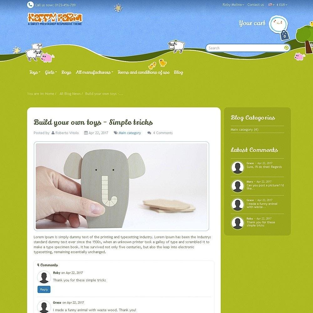 theme - Zabawki & Artykuły dziecięce - Happy Farm - 13