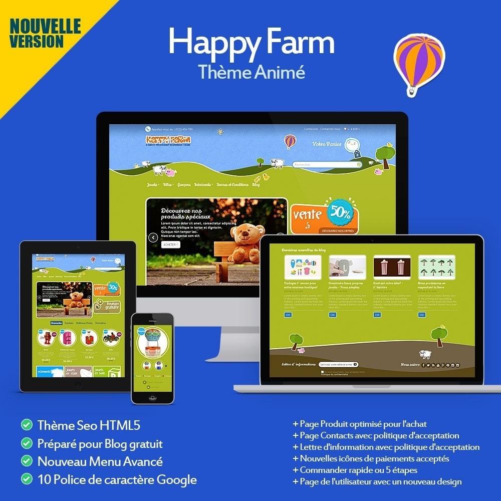 theme - Enfants & Jouets - Happy Farm - 1
