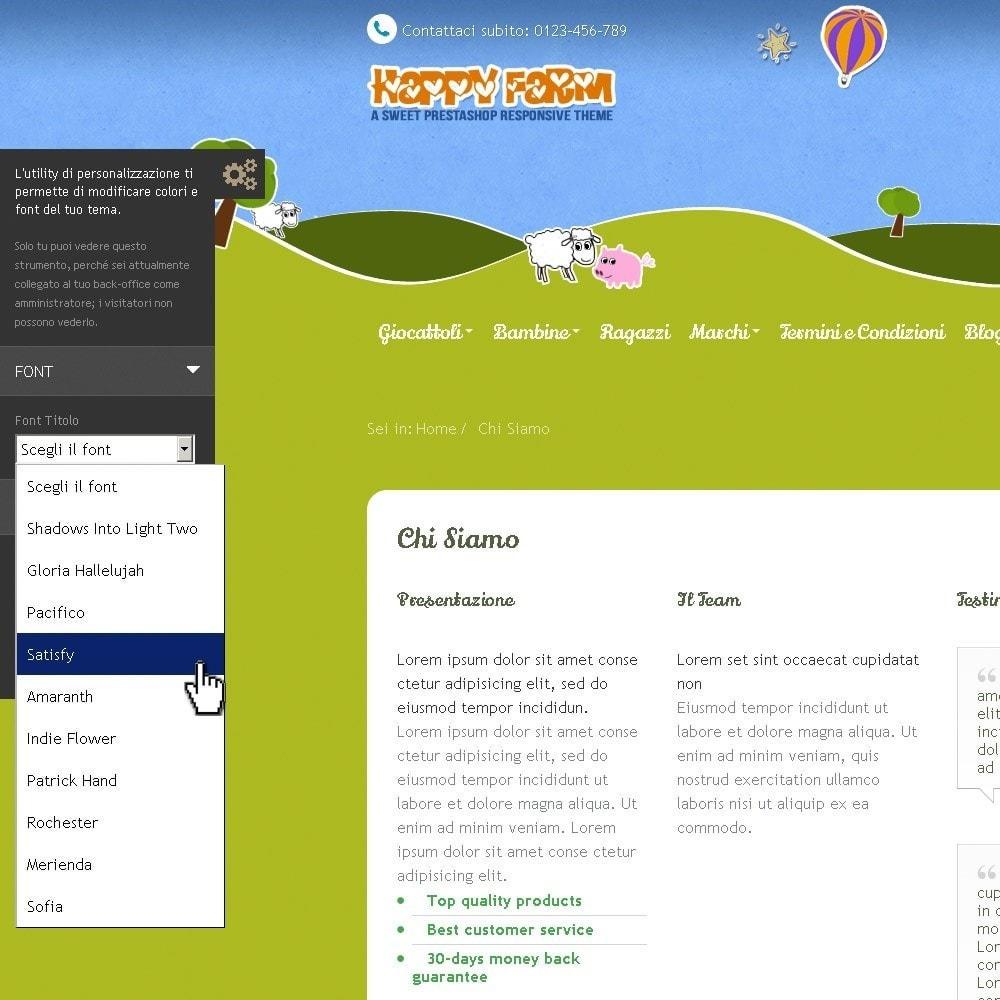 theme - Enfants & Jouets - Happy Farm - 11