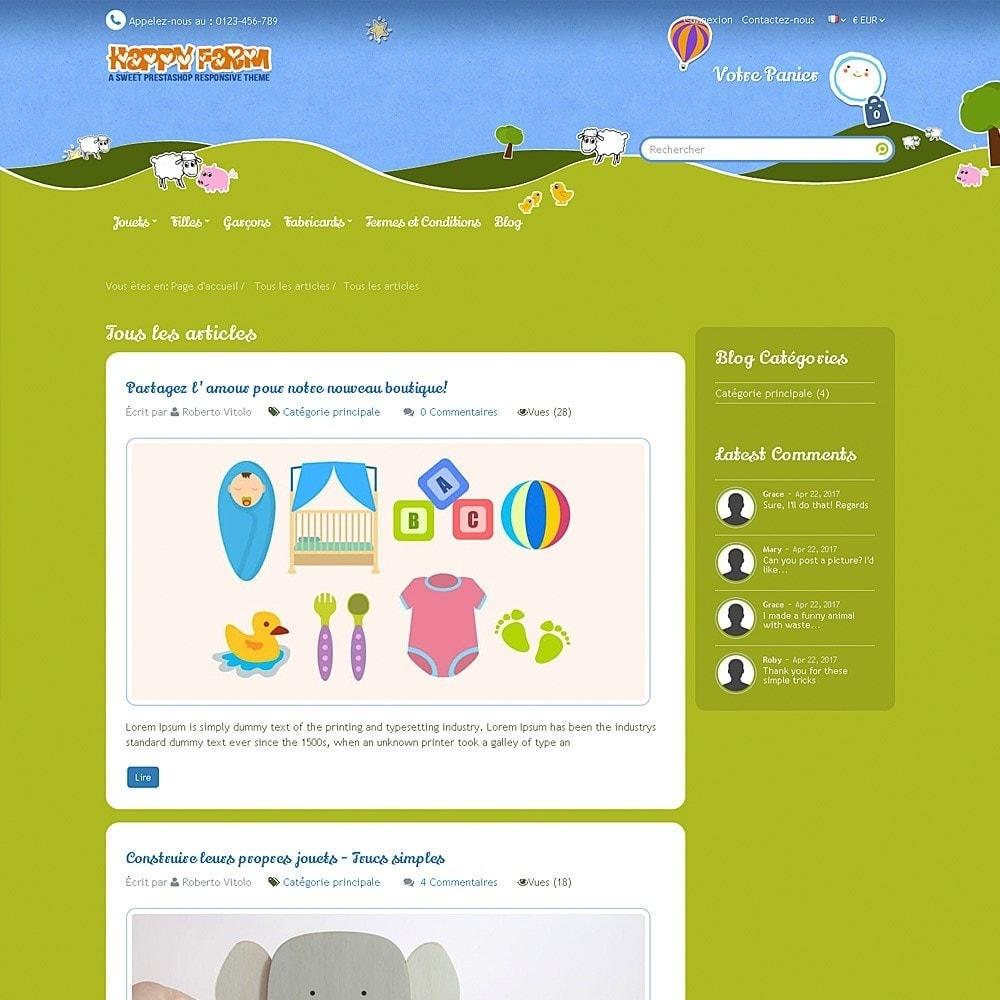 theme - Enfants & Jouets - Happy Farm - 12