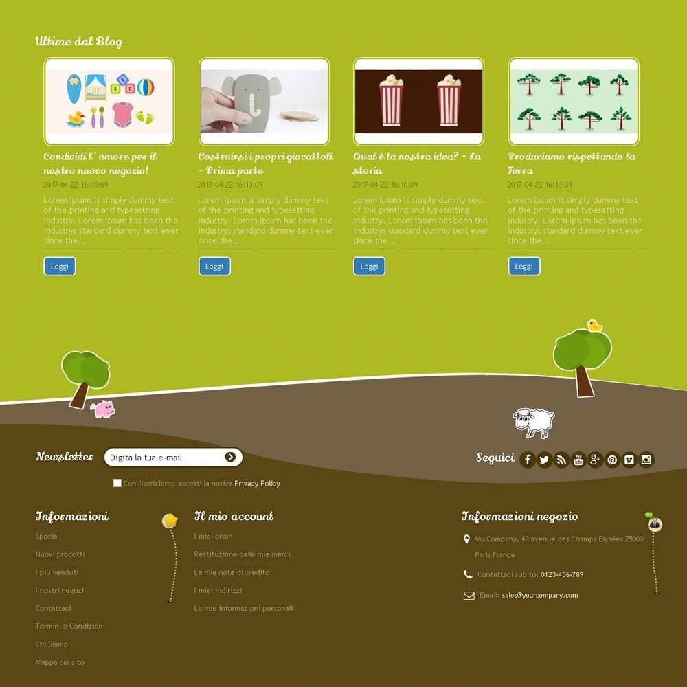 theme - Bambini & Giocattoli - Happy Farm - 8