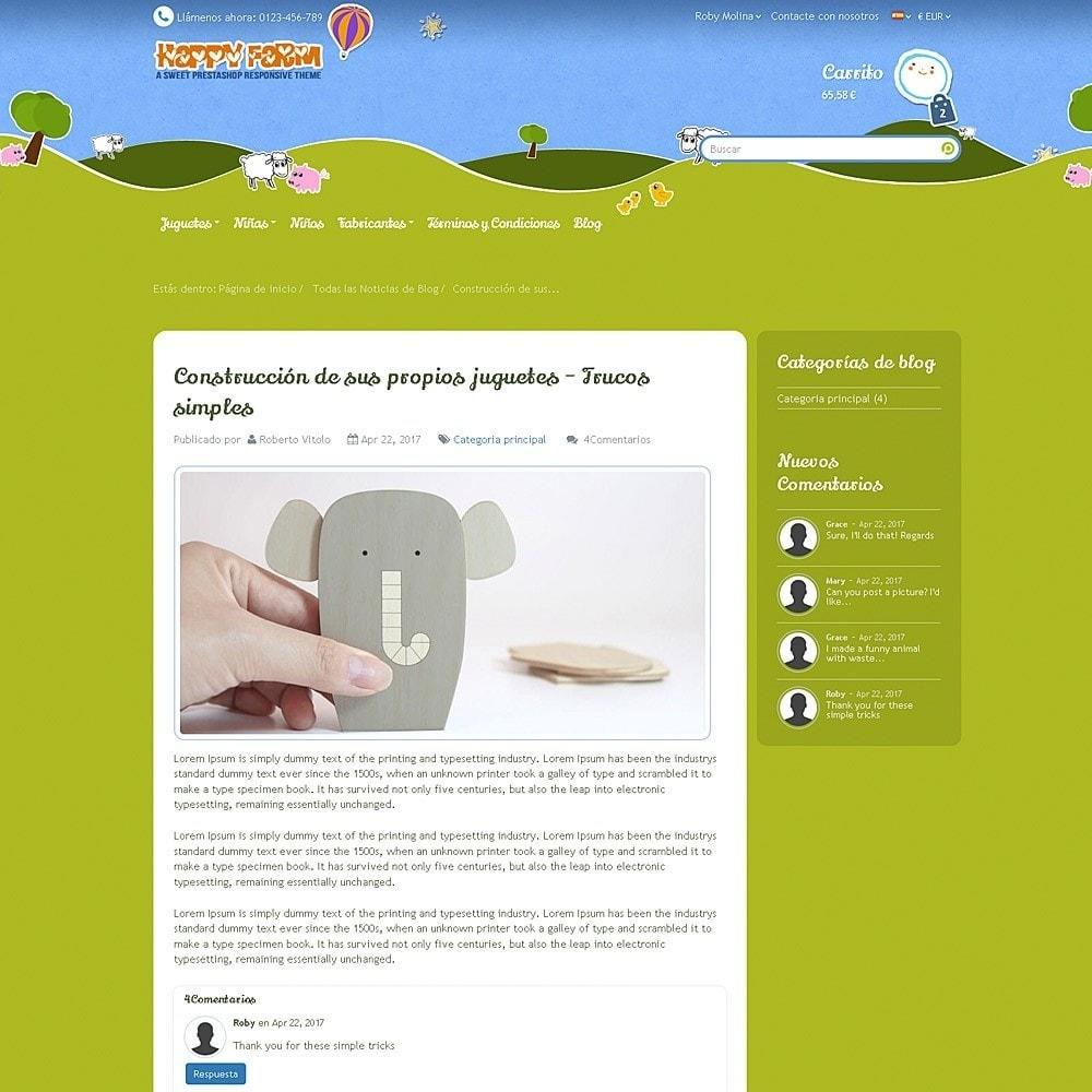 theme - Niños y Juguetes - Happy Farm - 13