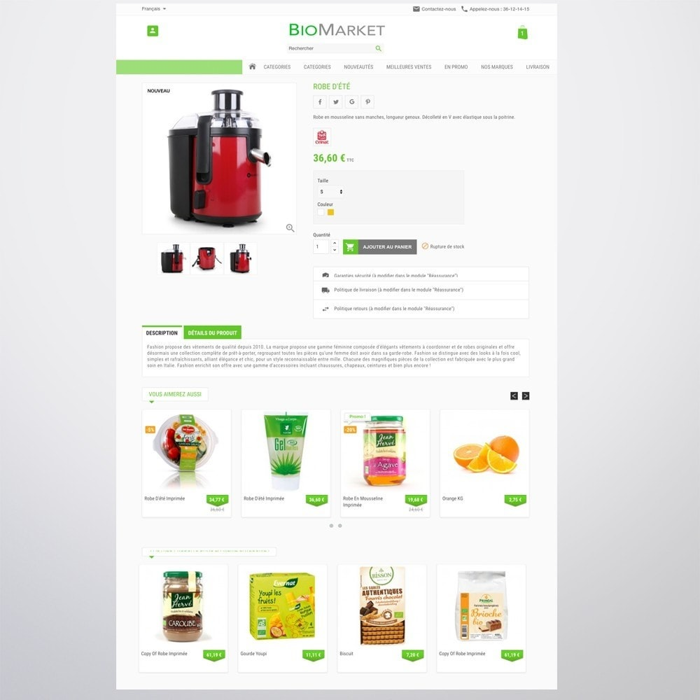 theme - Health & Beauty - Bio Market - 4