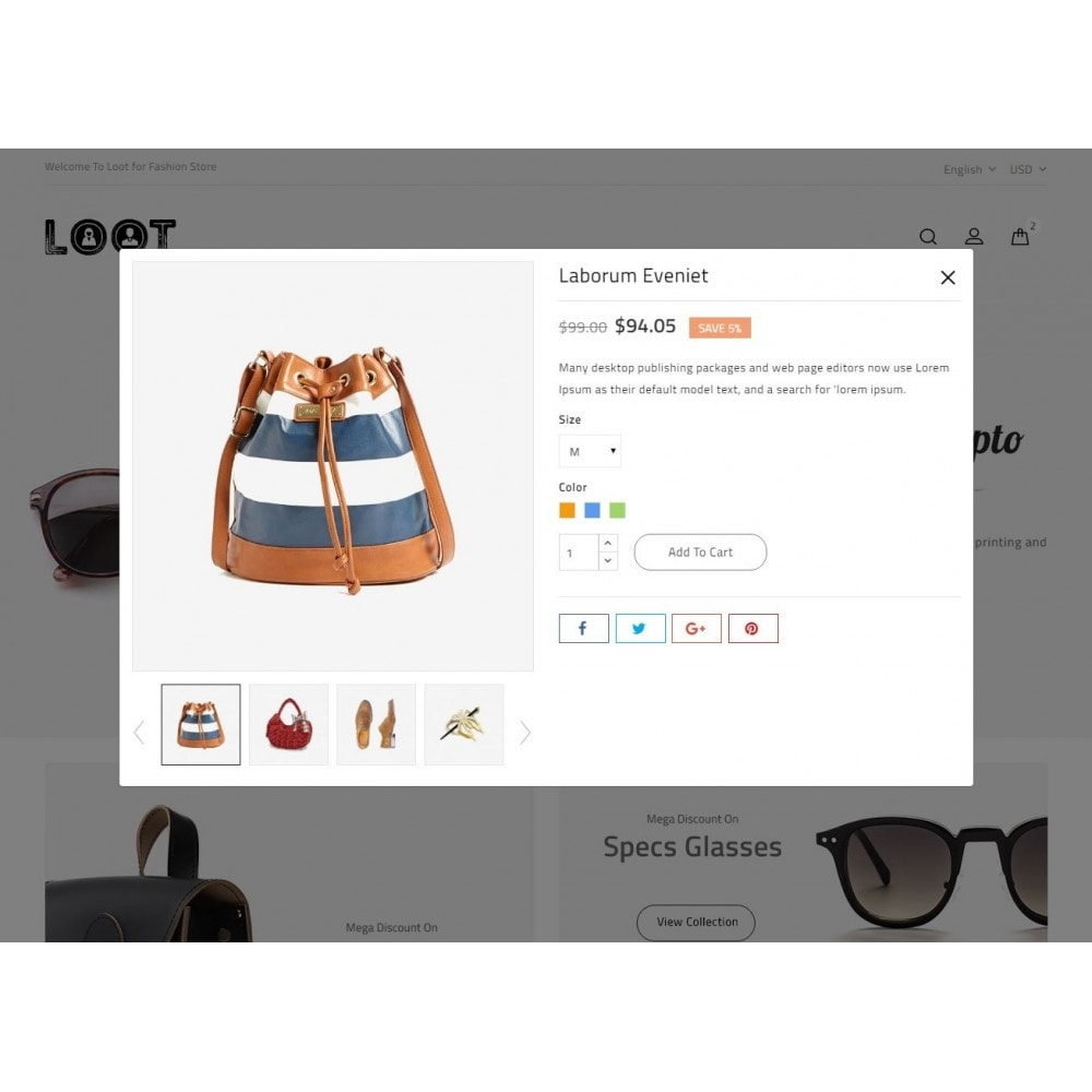 theme - Мода и обувь - Loot - Fashion Store - 7