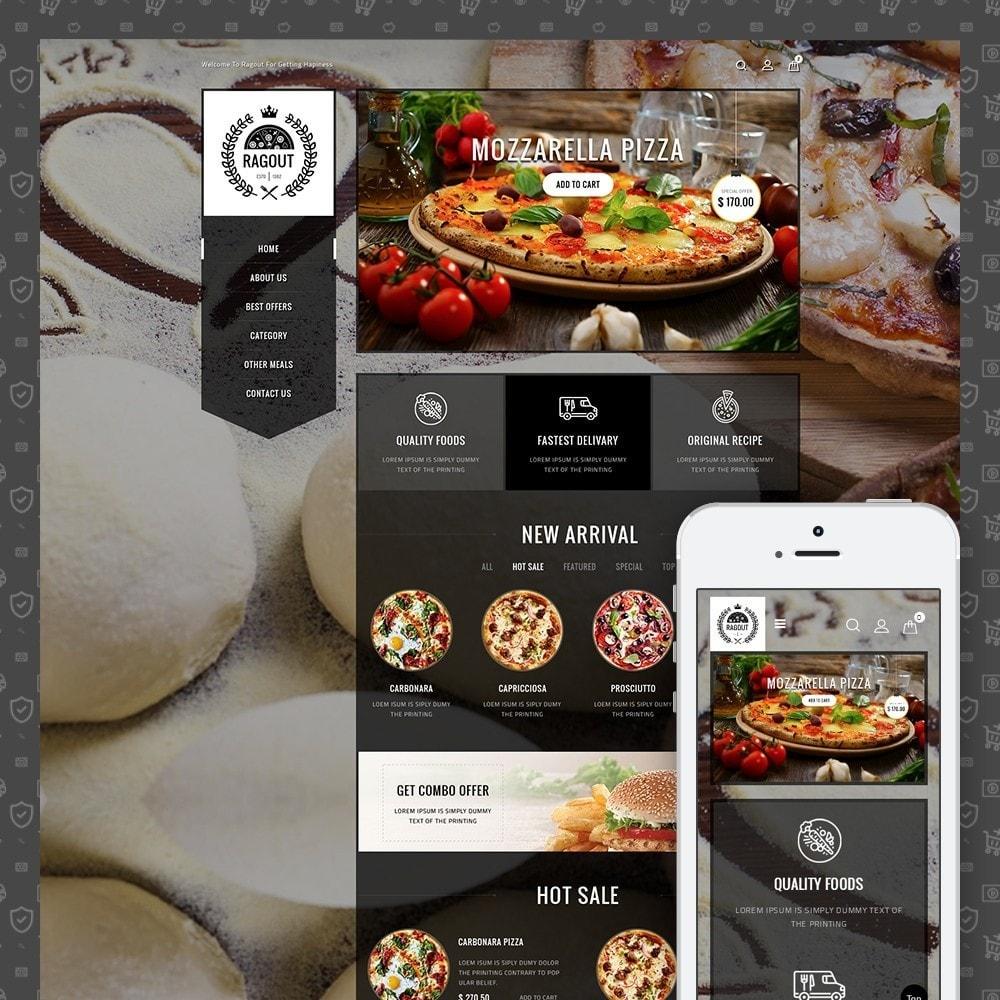theme - Продовольствие и рестораны - Ragout Pizza Store - 1