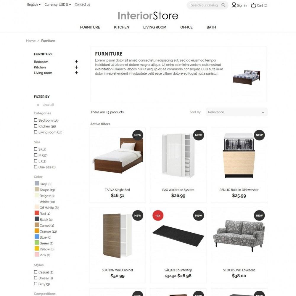 theme - Casa & Jardins - Interior Store - 5