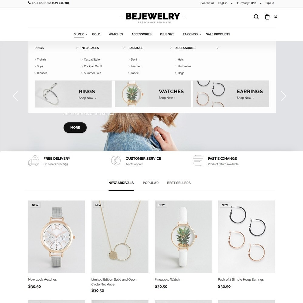 theme - Fashion & Shoes - Bejewelry - 2