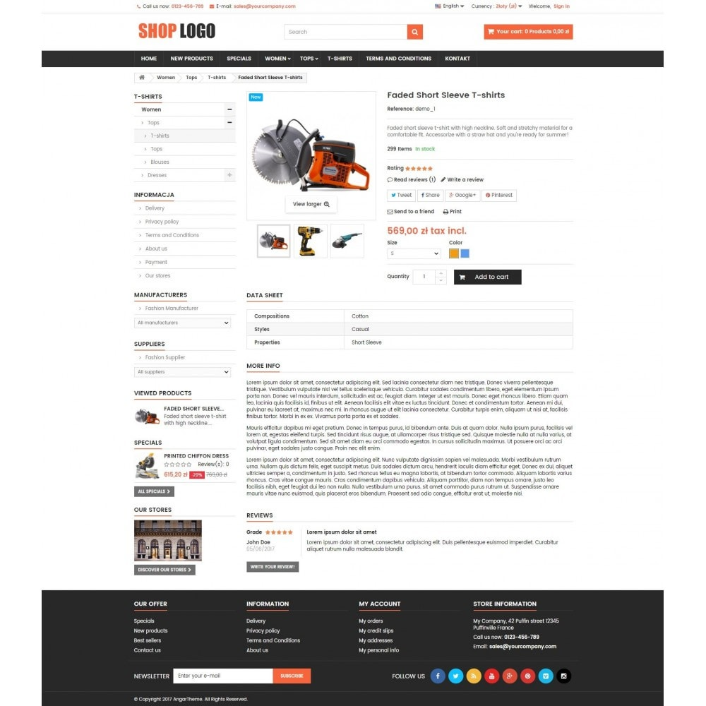theme - Home & Garden - ATS02 Tools and spare parts store - 4