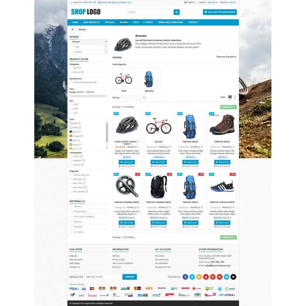 theme - Sport, Aktivitäten & Reise - P16AT03 Bikes, sport and travel store - 3